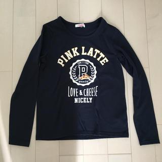 ピンクラテ(PINK-latte)のピンクラテ 長袖Tシャツ(Tシャツ/カットソー)