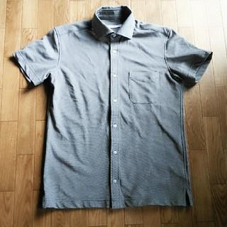 ハーヴァード(HARVARD)のメンズ半袖シャツ*グレー(Tシャツ/カットソー(半袖/袖なし))