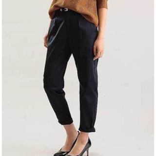 ラウンジドレス(Loungedress)のラウンジドレス 裾ねじりパンツ 黒(クロップドパンツ)