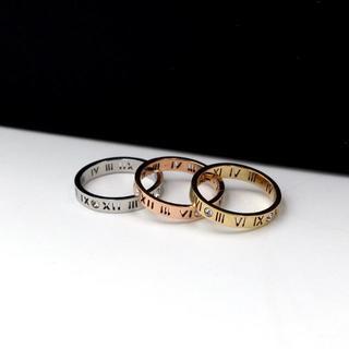 スケルトンリング指輪 ローマ数字(リング(指輪))