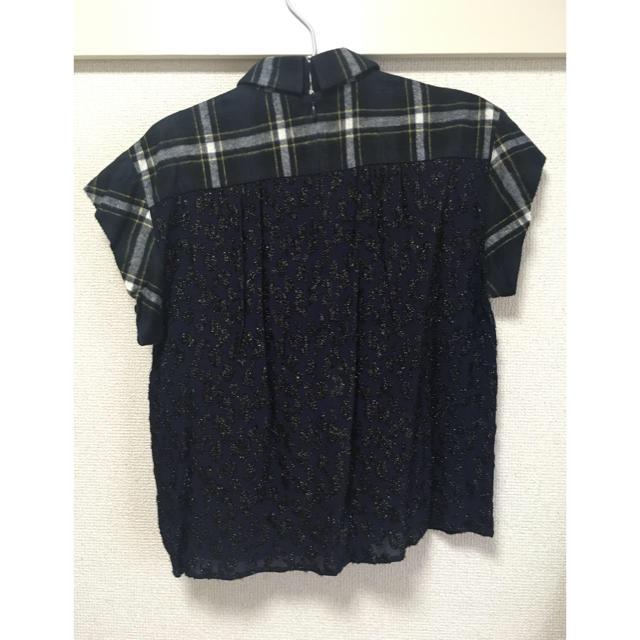 sacai luck(サカイラック)の☆お値下げ☆Sacai luck チェックトップス レディースのトップス(Tシャツ(半袖/袖なし))の商品写真