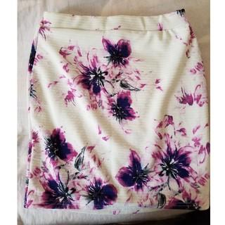 アベイル(Avail)の再値下げ!花柄スカート 試着のみ(ミニスカート)