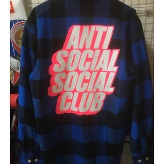 アンチ(ANTI)のアンチソーシャルソーシャルクラブ フランネルシャツ(シャツ)