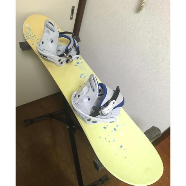 BURTON(バートン)の子供用 BURTON キッズ スノーボード chicklet スポーツ/アウトドアのスノーボード(ボード)の商品写真