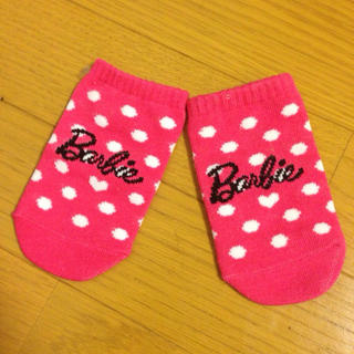 バービー(Barbie)のBarbie靴下風小物入れ(その他)