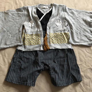袴型ロンパース(70cm)(和服/着物)