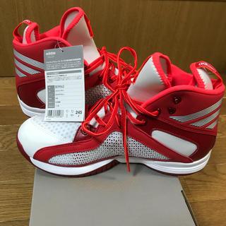 【新品、未使用、タグ付き】 アディダス adidas  バスケットボールシューズ