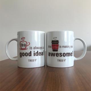 ジャーナルスタンダード(JOURNAL STANDARD)の✔非売品♡coffee&teaマグカップ♡新品未使用(グラス/カップ)