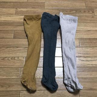 ムジルシリョウヒン(MUJI (無印良品))の無印良品 ベビー リブタイツ(靴下/タイツ)