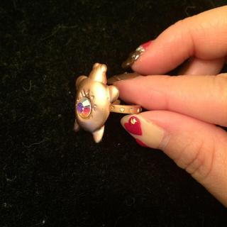 ツモリチサト(TSUMORI CHISATO)のツモリのカメリング(リング(指輪))