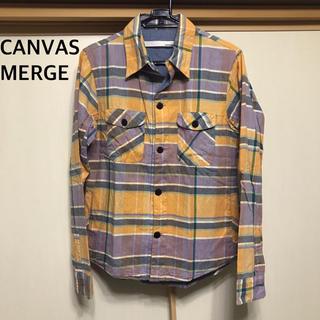 キャンバスマージ(CANVAS MERGE)のキャンバスマージ  ネルシャツ 長袖シャツ(シャツ)