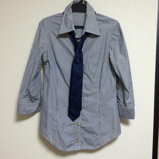 バイバイ(ByeBye)のボーダー柄のシャツ(シャツ/ブラウス(長袖/七分))