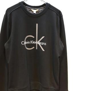 カルバンクライン(Calvin Klein)の CalvinKlein Jeans ロゴトレーナー 新品未使用タグ付き (スウェット)