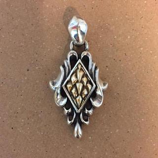 ジゴロウ(GIGOR)のジゴロウ K18 × シルバー925 ペンダントトップ(ネックレス)