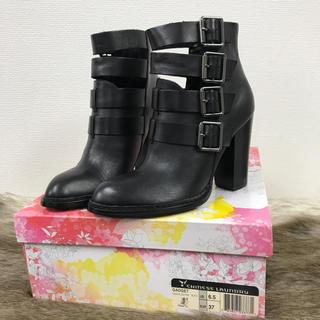 チャイニーズランドリー(CHINESE LAUNDRY)の未使用CHINESE LAUNDRY ベルト本革ブーツ 23cm 23.5cm(ブーツ)
