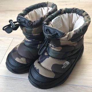 ザノースフェイス(THE NORTH FACE)のノースフェイス スノーブーツ スノーシューズ 16cm キッズ (長靴/レインシューズ)