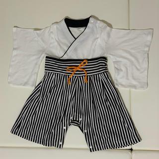 しーちゃん様専用  ベビー袴ロンパース70(和服/着物)