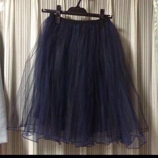 ミスティウーマン(mysty woman)のミスティウーマンチュールスカート♡(ひざ丈スカート)