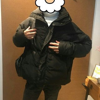 ザラ(ZARA)のZARA 綿服 厚い 送料無料 格好がいい暖かいパフジャケット ダウンジャケット(ピーコート)