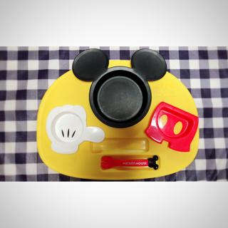 ディズニー(Disney)のミッキー お子様プレート(プレート/茶碗)