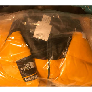 シュプリーム(Supreme)のSサイズ supreme 新品 tnf leather nuptse(ダウンジャケット)
