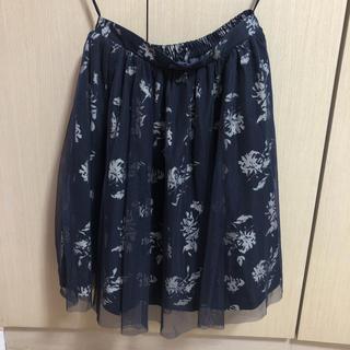 ハニーズ(HONEYS)の柄物 スカート(ひざ丈スカート)