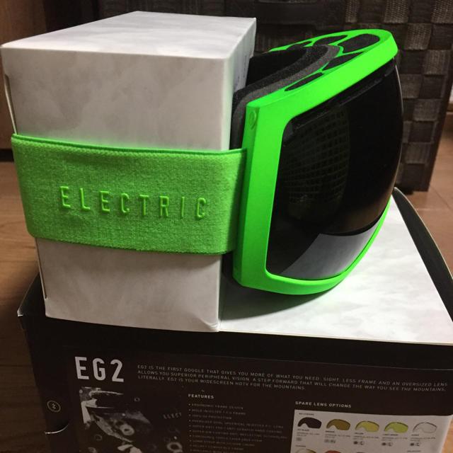 ELECTRIC ゴーグルEG2 スポーツ/アウトドアのスノーボード(アクセサリー)の商品写真