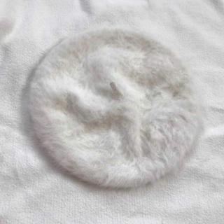 ロキエ(Lochie)のアンゴラベレー帽(ハンチング/ベレー帽)