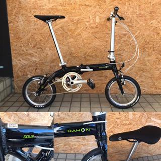 ダホン(DAHON)のハルさん専用 DAHON DOVE PLUS 折畳み ミニベロ 軽量 2018(自転車本体)