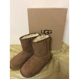 アグ(UGG)のUGG ムートンブーツ キッズ(ブーツ)