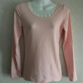 ピンクラテ(PINK-latte)のピンクラテ 長袖カットソー Sサイズ (155-165cm)(Tシャツ/カットソー)