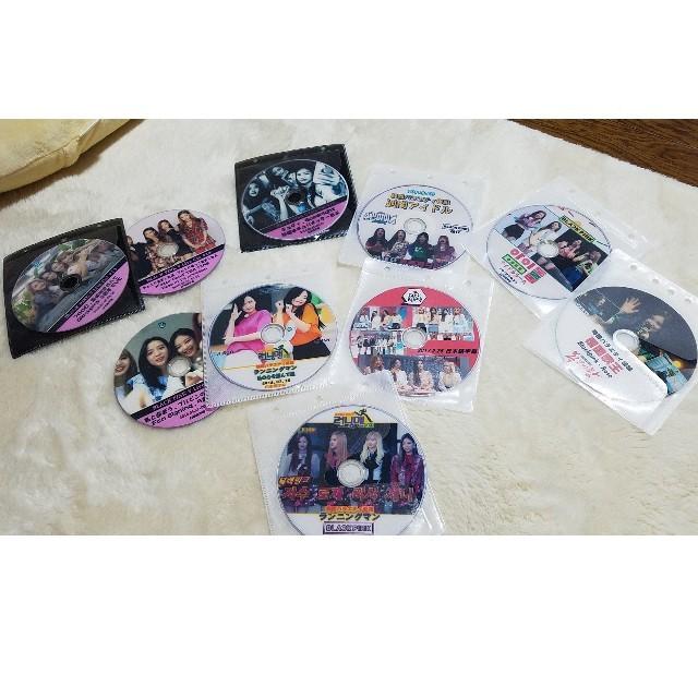 Waste(twice)(ウェストトゥワイス)のブラックピンクblackpink★新品DVD10枚セット エンタメ/ホビーのCD(K-POP/アジア)の商品写真