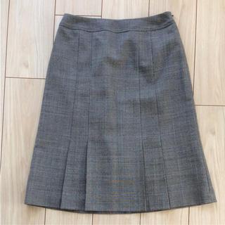 ジェイプレスレディス(J.PRESS LADIES)の【美品】JPRESS スカート チェック柄(ひざ丈スカート)