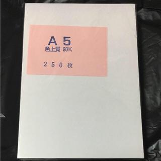 A5 色上質 90K 200枚以上(スケッチブック/用紙)