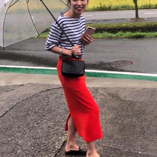 デミルクスビームス(Demi-Luxe BEAMS)の新品未使用タグ付き サイドポケットタイトスカート(ひざ丈スカート)