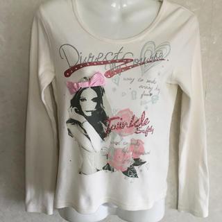 ピンクラテ(PINK-latte)のピンクラテ 長袖 Tシャツ Sサイズ (155-165cm)(Tシャツ/カットソー)