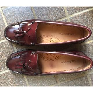 ジーエイチバス(G.H.BASS)のghbassタッセルローファー(ローファー/革靴)