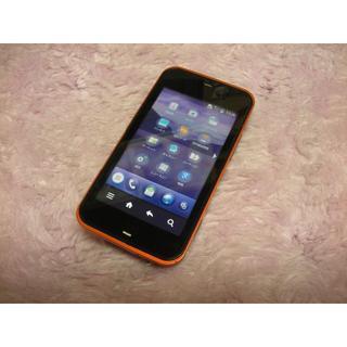 au/- IS03/1GB/オレンジ/ジャンク/47(スマートフォン本体)