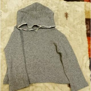 クリスティーナローデ(CHRISTINA ROHDE)のこどまーく購入クリスティーナローデ☆フード付ニット4セーター キッズ(ニット)