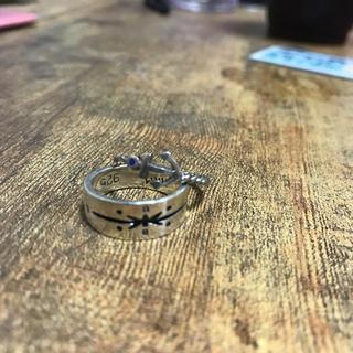 ハリウッドランチマーケット(HOLLYWOOD RANCH MARKET)のハリウッドランチ二連指輪(リング(指輪))