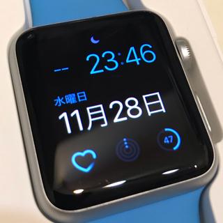 アップルウォッチ(Apple Watch)のVIP様用 apple watch series1 アルミニウムケース 42mm(スマートフォン本体)