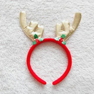 クリスマス トナカイ カチューシャ サンタ(アクセサリー)