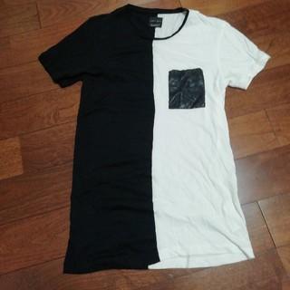 ザラ(ZARA)のZARA バイカラーTシャツ(Tシャツ/カットソー(半袖/袖なし))