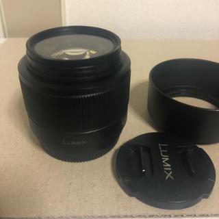 パナソニック(Panasonic)のLUMIX G 25mm/ F1.7 ASPH. ブラック H-H025-K(レンズ(単焦点))