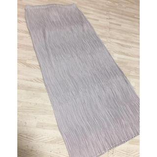 プリーツプリーズイッセイミヤケ(PLEATS PLEASE ISSEY MIYAKE)のイッセイミヤケプリーツプリーズスカート 新品未使用(ロングスカート)