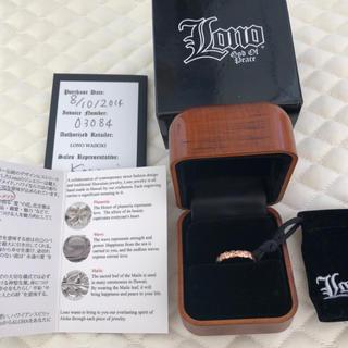 ロノ(LONO)のlono 14k ピンクゴールド リング(リング(指輪))