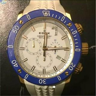 エドックス(EDOX)のエドックスクロノオフショアワンクロノグラフ(腕時計(アナログ))