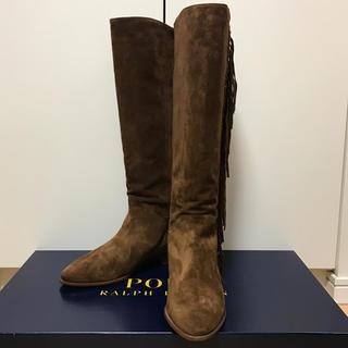 ポロラルフローレン(POLO RALPH LAUREN)の新品 未使用 ポロ ラルフローレン スウェードブーツ 新品(ブーツ)