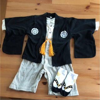 ベルメゾン(ベルメゾン)の袴ロンパース 80 足袋靴下セット(和服/着物)