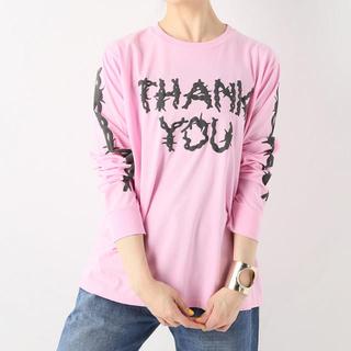 ジャーナルスタンダード(JOURNAL STANDARD)の【ASHLEY WILLIAMS】THANK YOUロングスリーブ Tシャツ(Tシャツ(長袖/七分))